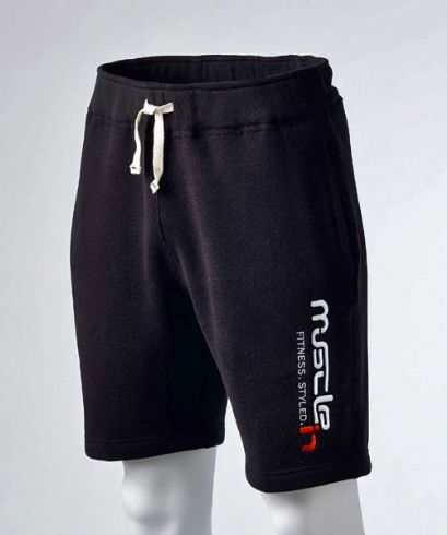 Fulmar Fleece Shorts (BLACK)